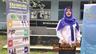 Nur AzijahMPd MTsN 14 Jakarta Menuju Madrasah SMART