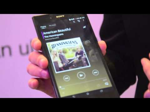 First Looks: Sony Xperia Z Ultra