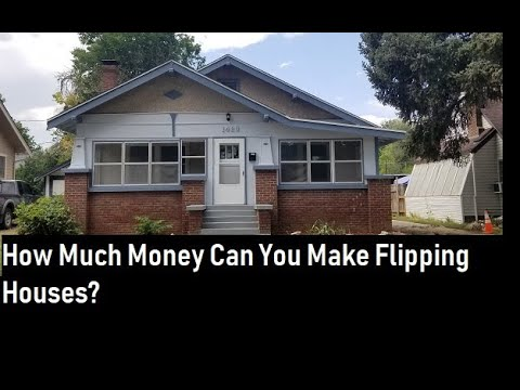 How Much Money Can you Make Fix and Flipping Houses?