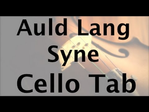 Learn Auld Lang Syne on Cello - How to Play Tutorial