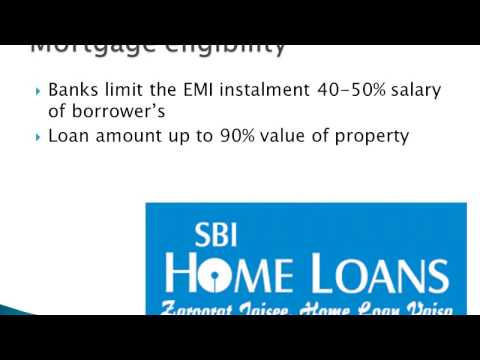 sbi mortgage loan eligibility