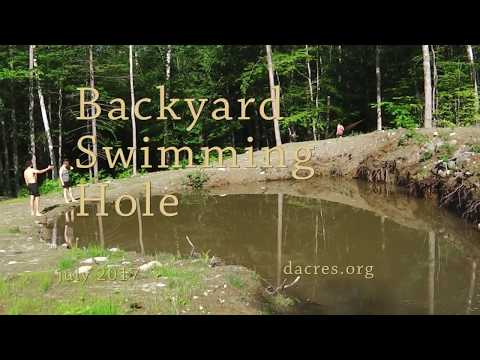 backyard swimming hole