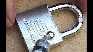 How to open a Lock with Gallium. Aluminum Lock VS Gallium!