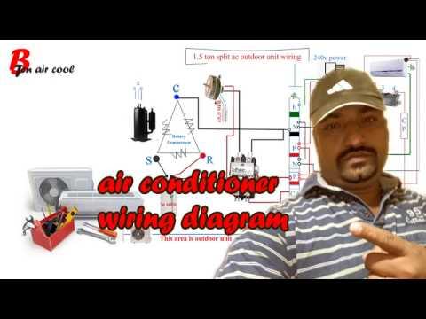 Air  Conditioner Wiring hindi