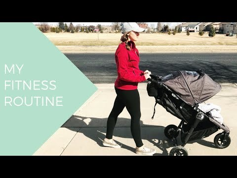 Stay At Home Mom / Postpartum Fitness Routine ft. Green Tidings  // Laura's Natural Life