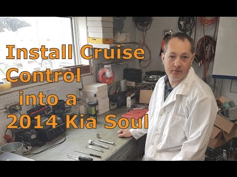 2014 to 2017 Kia Soul Cruise Control Installation