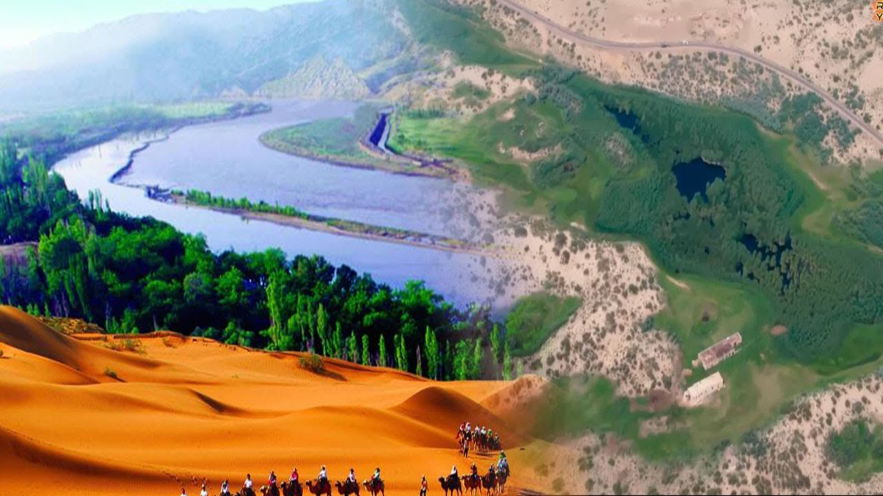 China's Big Desert Transformed Into Useful Lands! [WATCH HOW]