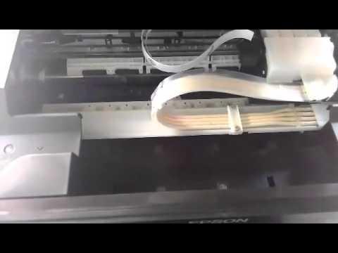 Cara memperbaiki printer epson L210 tidak keluar tinta