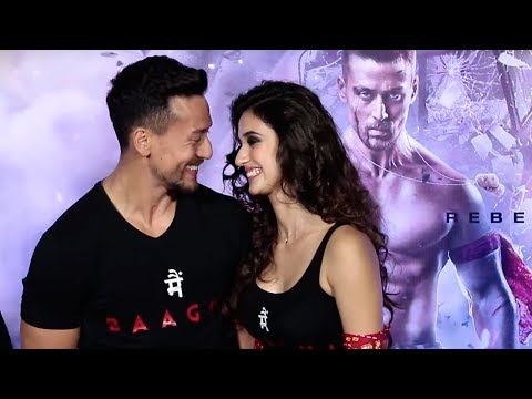 Xxx Mp4 Tiger Shroff FLIRTS With Girlfriend Disha Patani In Public At Baaghi 2 Trailer Launch 3gp Sex