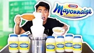 Mayonnaise Fondue Experiment! (GROSS ALERT!)