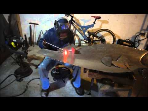 How to make a steel sculpture - Sockeye Salmon (how I make them)