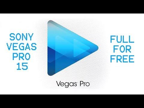 Sony Vegas Pro 15 For Windows 10/8/7 Lifetime + Crack (2018)