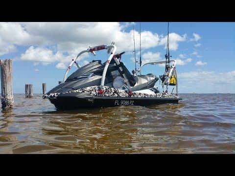 Xtreme Fishing Products Jet Ski Fishing Setup Update 6/17
