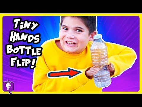 TINY HANDS CHALLENGE!! Throw Ball and Pick Up a Coin with HobbyKidsTV