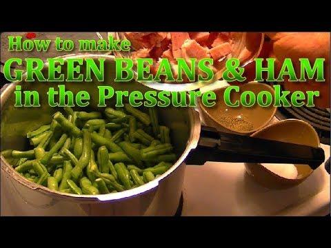 Pressure Cooker Green Beans & Ham