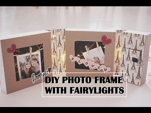 DIY Photo Frame with Fairylights