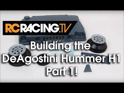 DeAgostini Kyosho Hummer Build - Part 1 - Steps 1 & 2!