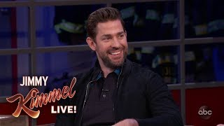 John Krasinski on Casting Wife Emily Blunt in A Quiet Place