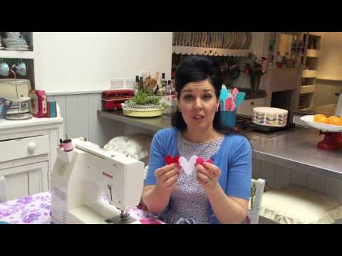 How to make a simple heart garland