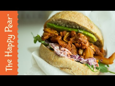 Vegan Pulled Pork | Quick Easy Healthy | THE HAPPY PEAR