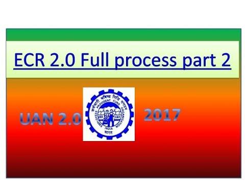 How to Prepare PF monthly Challan cum return (ECR) Part 2