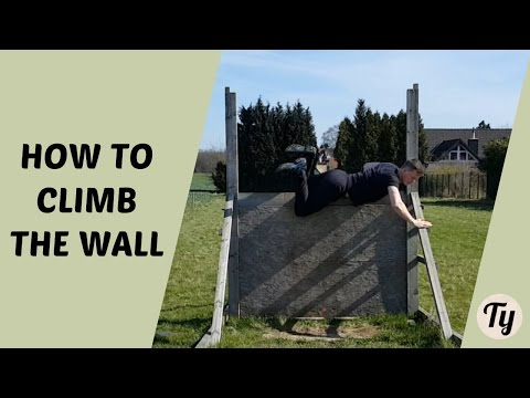 How To Climb A Wall At An Obstacle Course Race (FOR BEGINNERS)