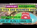 AZERBAIJAN VISIT VISA [[ BUSINESS VISA ]] IN URDU/HINDI 2018 BY PREMIER VISA CONSULTANCY