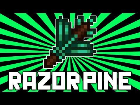 Terraria 1.2.2: Razorpine (NEW Best Magic Weapon?) @demizegg