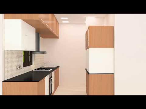 Parallel Kitchen Interior Design Ideas   Online Shopping Scale Inch