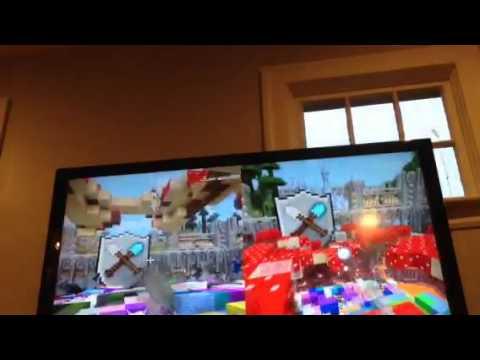 Minecraft Xbox one. Tumble snowballs