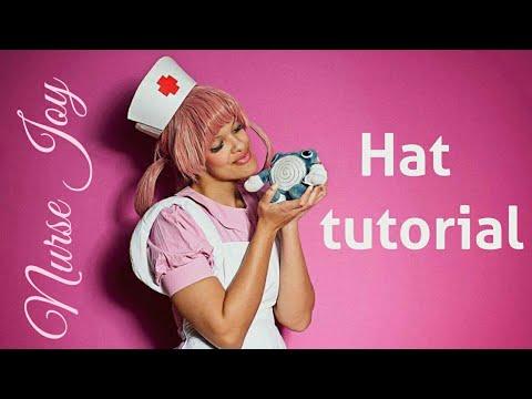 Nurse Joy cosplay tutorial - Hat