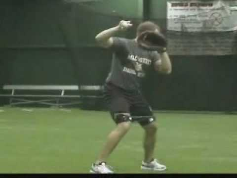 Speed drills - baseball and softball - Improve hip and leg strength with resistance bands