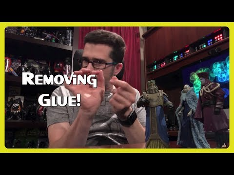 How to Remove Glue from Plastic  👨🏻‍🎨