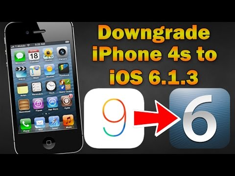 How to Downgrade iPhone 4s From iOS 9.3 to iOS 6.1.3 (Without SHSH Blobs)