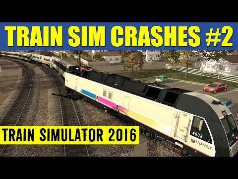Train Simulator 2016 Crash Compilation #2