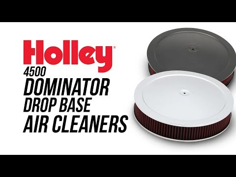 Holley 4500 Dominator Drop Base Air Cleaners