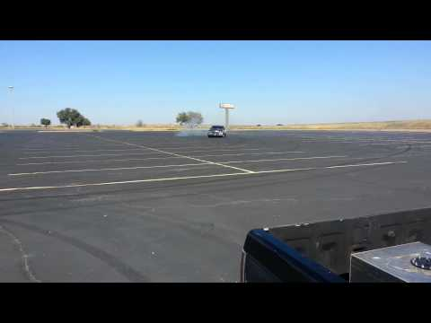 Parking lot drifting 101