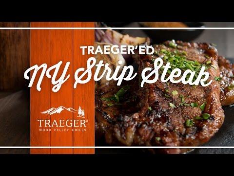 Easy Strip Steak Recipe by Traeger Grills
