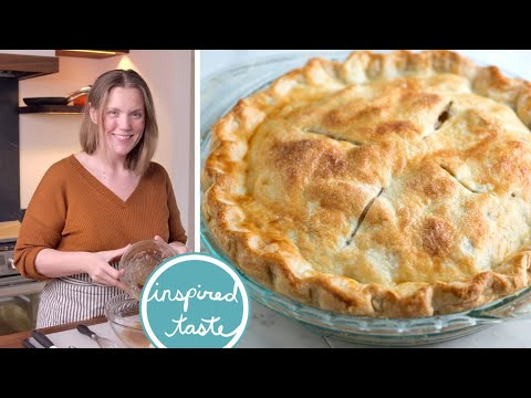 Easy All-Butter Flaky Pie Crust Recipe - How to Make Homemade Pie Crust