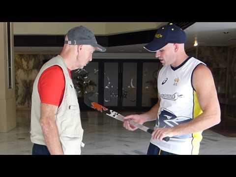 Glen Turner Hockey Stick selection. Australian field hockey player GT gives some tips.