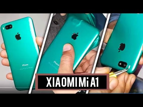 How to decorate any Phone Mi A like iPhone 7 2018 trick best accessories 2018 decorate