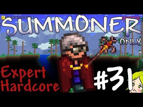 Terraria Expert Hardcore Summoner Only #31