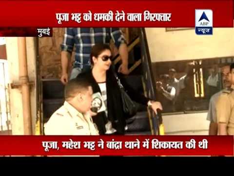 Man threatening Pooja Bhatt arrested from Pune