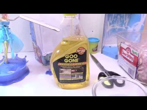 Goo Gone tape residue remover