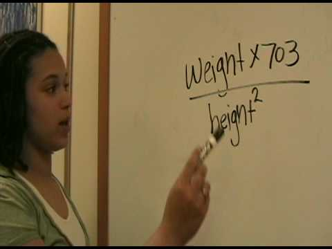 How to Calculate your BMI (US Customary system of measurement)