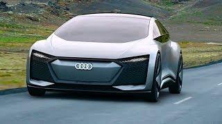 Audi Aicon A8 Electric Autonomous Car World Premiere Video No Steering Wheel CARJAM TV HD