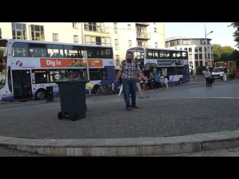 Street preaching in England (with short clips of Nepal in the beginning)