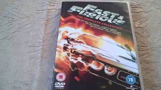 Fast and Furious: The Complete Collection 1-5 DVD