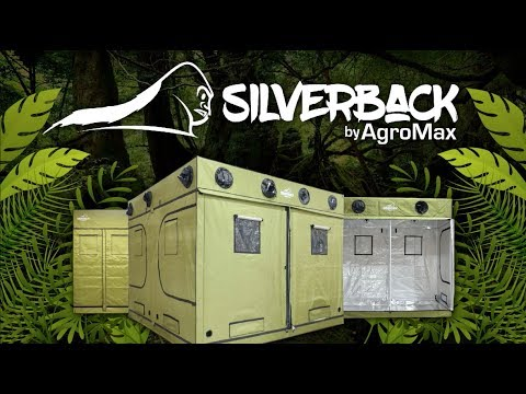 HTG Supply Presents: The AgroMax Silverback Grow Tent Series