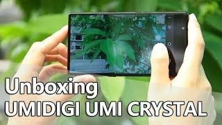 UMIDIGI UMI CRYSTAL Smartphone Unboxing & Hands On Video